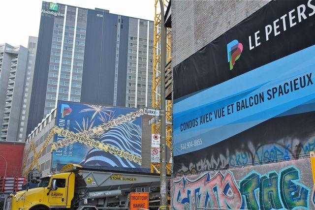 Montreal.Rue Bleury.                                    Photo:T. Graffe
