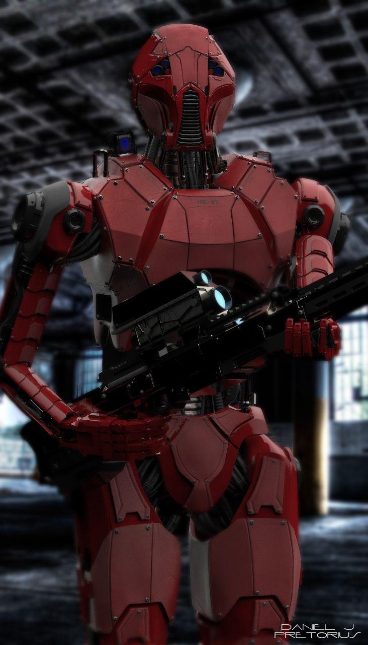 Star Wars HK-47 Redesign by Daniel J Pretorius | Sci-Fi | 3D | CGSociety