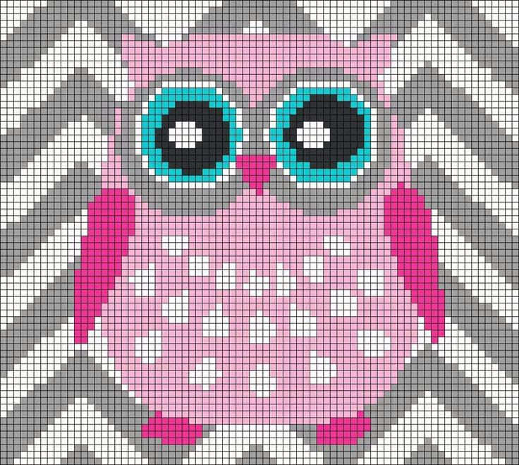 Chevron owl graph