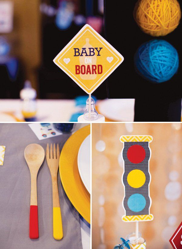 transportation-baby-shower-decorations