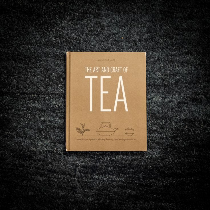 It's a book, a book about tea. A really good book about tea written by Joe. Informative, interesting, intriguing (and really, really beautiful). If you would like a signed copy, please tell us in the