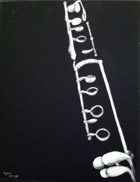 Just cause I play clarinet and I love it so much