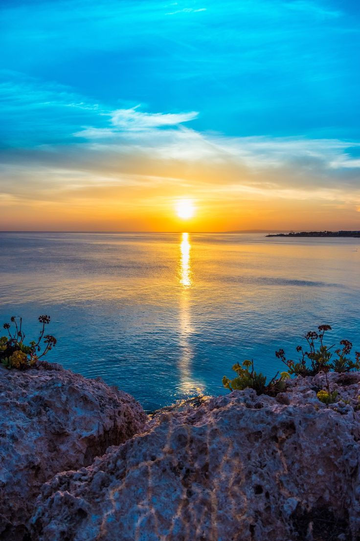 Sunset in Agia Napa, Cyprus, Greece