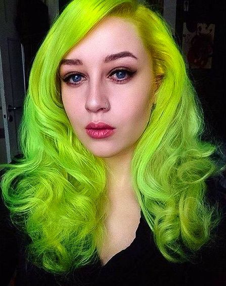 Pin By Poison Nightmares On Green Hair Pinterest Green