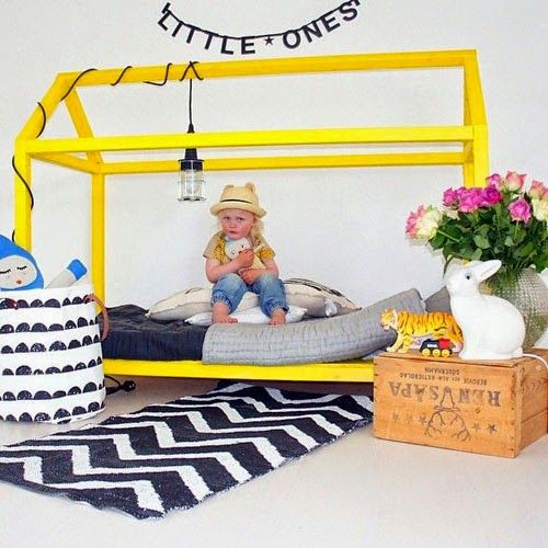 mommo design: HOUSE SHAPED TODDLER BEDS