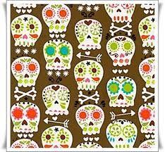 calaveras coloridas -