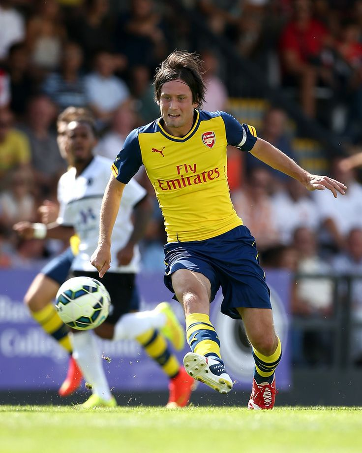 Brilliant assist by Tomas Rosicky on Arsenal first pre-season match. Boreham Wood 0-2 Arsenal (July 2014)