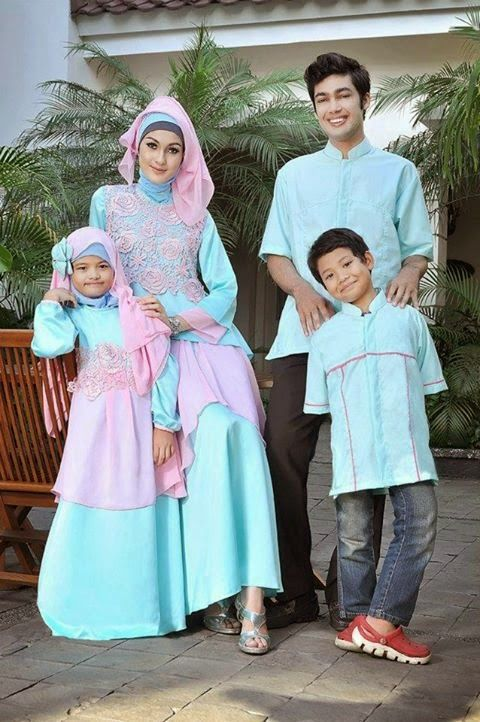 Trend Model Baju Lebaran 2015 couple keluarga