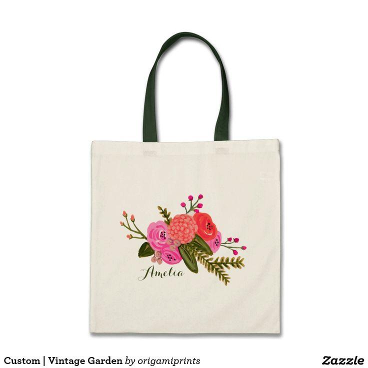 Custom | Vintage Garden Bags