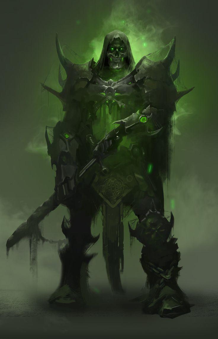 ArtStation - Undead Knight, Nikolay Karelin