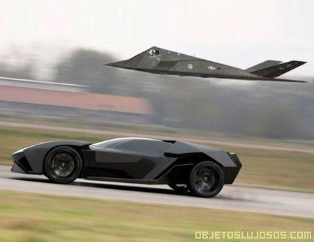 Un Lamborghini Ankonian megarápido