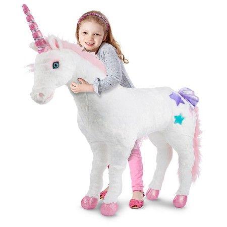 Yes, I do need a giant unicorn in my home. Melissa & Doug® Plush Unicorn - Plush : Target