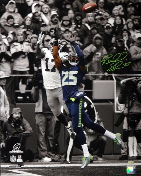 Richard Sherman Autographed 16x20 Photo Seattle Seahawks RS Hologram