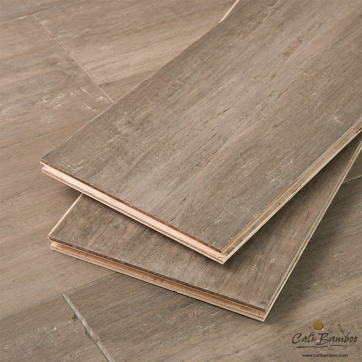 Engineered Floors - Catalina Fossilized® Wide+ T&G Hybrid™ Bamboo - Cali Bamboo