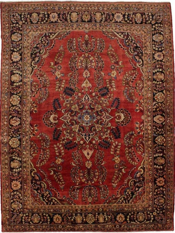Excellent Palace Size Lilian Hamedan Persian Rug Oriental Area