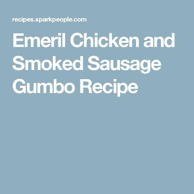 Emeril Chicken and Smoked Sausage Gumbo Recipe