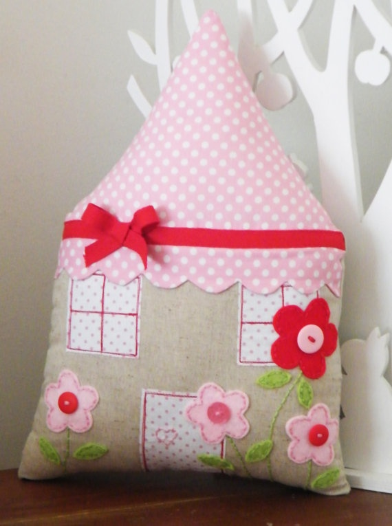 House+Cushion+by+redstitchdesigns+on+Etsy,+$41.50