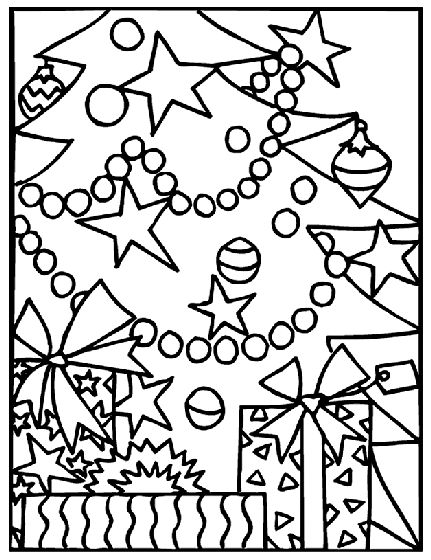 christmas coloring pages from crayola