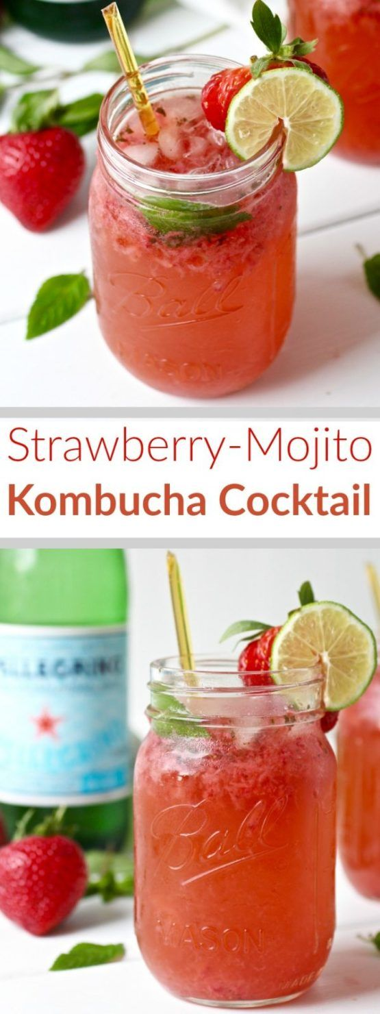 how to make strawberry mojito drink