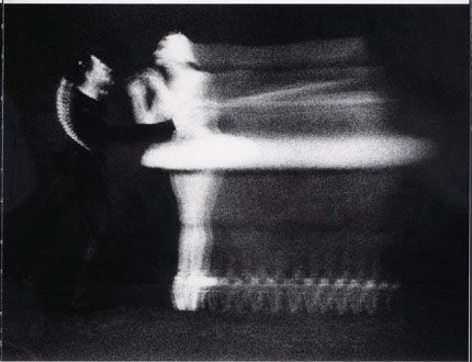"Paul Himmel. Ballet Sylvia ""Pas de Deux""... love this long exposure"