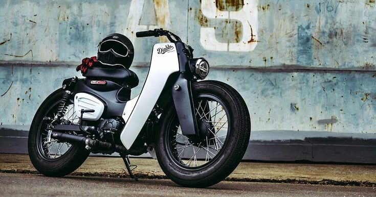 To max out the cool factor, Honda has commissioned a killer custom Cub from Thailand's superstar bike builders.