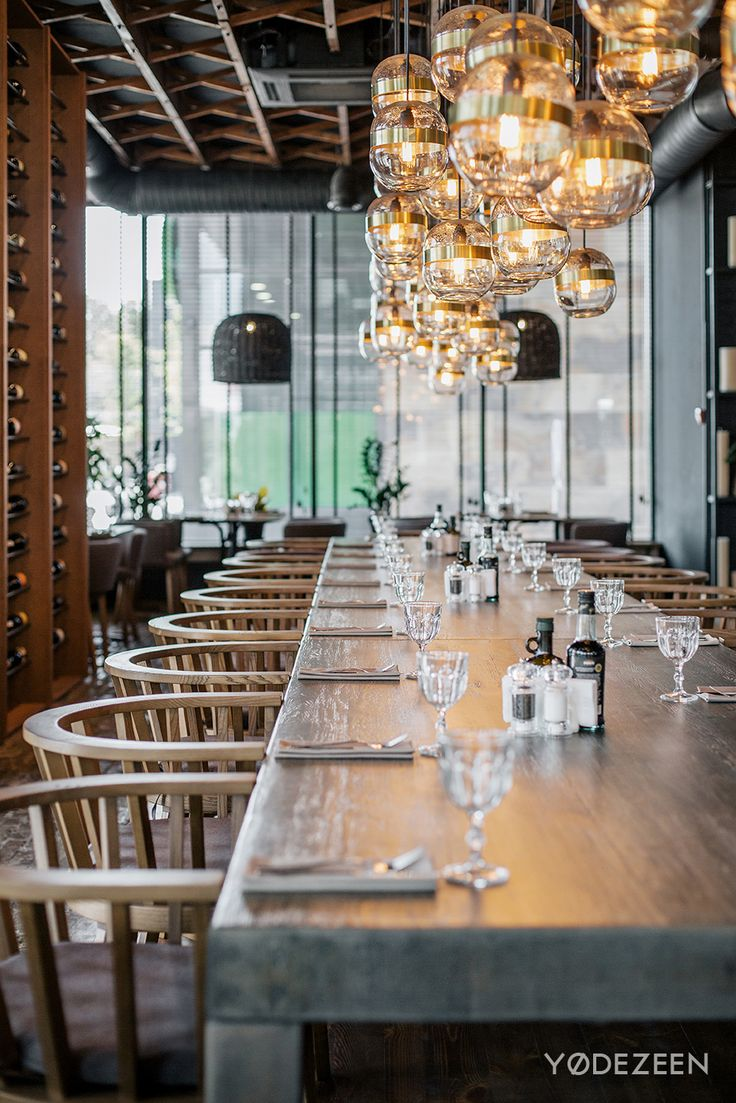 •Architects: YoDezeen •Project: Semifreddo restaurant •Location: Kyiv, Ukraine •Photography: Andrii Shurpenkov •Year:  2017