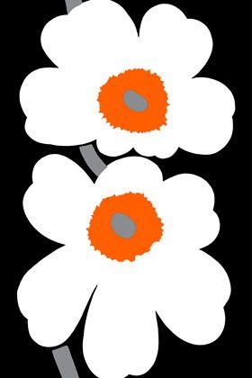 unikko flower print fabric - marimekko