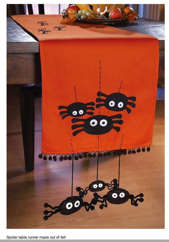Este mantel complementará la decoración de #halloween #costura #diy