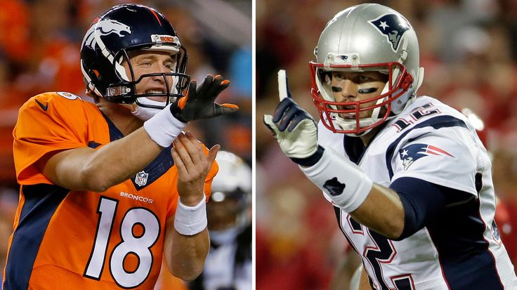 Here are the numbers you need to know about future Hall of Famers Tom Brady and Peyton Manning as they square off for the 16th time in their careers.