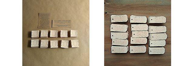 Regalos Cuero Grabados Personalizados originales ecológicos handcrafted Leather Spain Gifts Decor.: Etiquetas de Cuero con grabado personalizado a mano, para pegar, coser o colgar, para botellas de vino, licores, regalos, decorativas, de identificación, hecho en España.