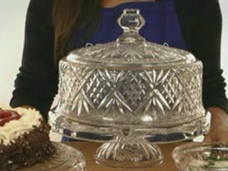Godinger Dublin Crystal 4 in 1 ... & Awesome Godinger Dublin 4 In 1 Footed Cake Plate with.godinger ...