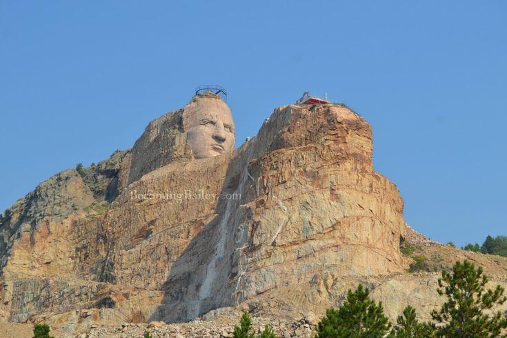 Visiting Mount Rushmore & Crazy Horse Memorial