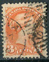 #Канада 1873 марка королева Виктория Скотт#37 2$ - 45 р. #  Все на фото клудиКанада