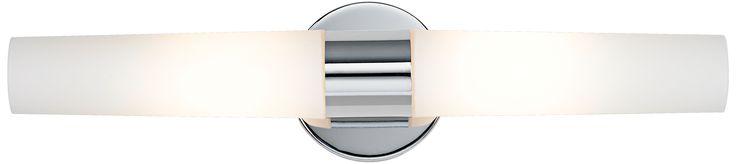 Contemporary Chrome George Kovacs Bath Light Fixture - Euro Style Lighting