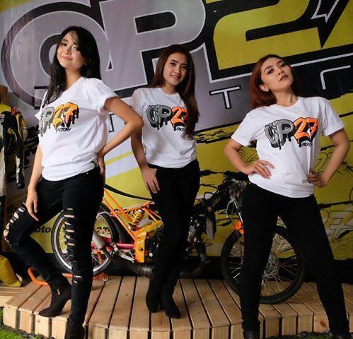 T-shirt OP27 Factory Racing TOP27-016 White  087845622777 (WA, SMS, & Telp) / D17560D1 (BBM) / op27factory (LINE)