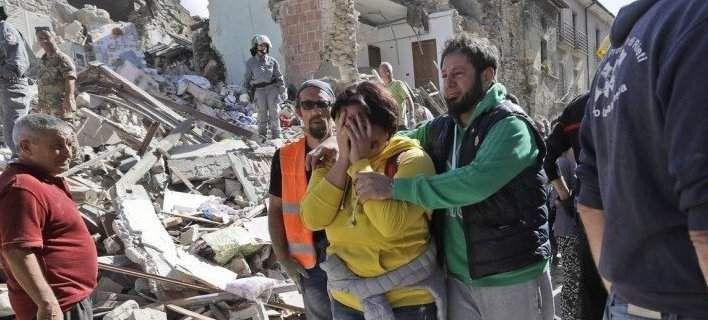 Δραματικές ώρες στην Ιταλία -247 νεκροί από το φονικό σεισμό 400 τραυματίες