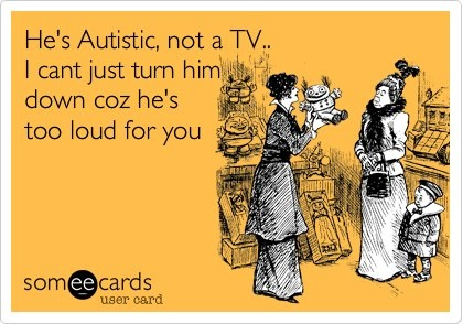 Inner Aspie: Discussing staring, and #autism in public