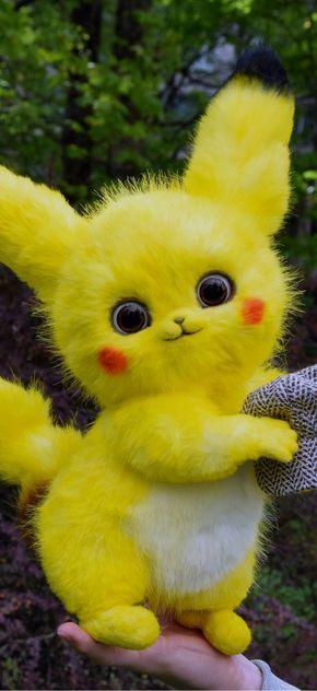 Pikachu Detective Pokemon Fantasy creatures & pets toys ...