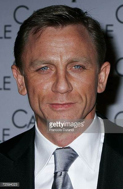 UK actor Daniel Craig attends the Casino Royale french Premiere at the Grand Rex on November 17 2006 in Paris France