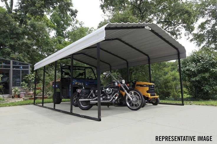 12 By 24 Carport are more popular than garages