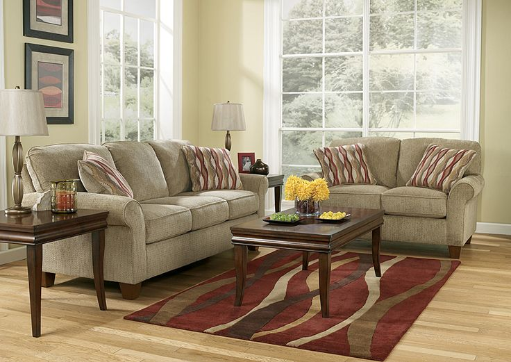 Furniture Outlet | Chicago, IL Newton Pebble Sofa & Loveseat