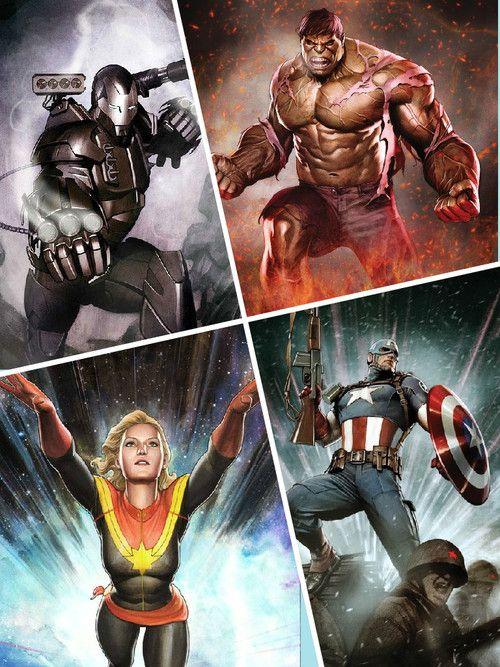 Marvel Artists: Adi Granov's Avengers Part 1
