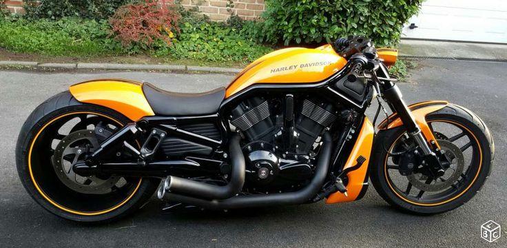 """Harley Night Rod Maxi Show Bike pneu 300 jante 11"""" Motos Aisne - leboncoin.fr"""