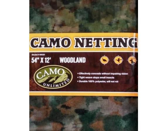 Camo Unlimited Woodland Insect Netting | Vermont's Barre Army Navy Store