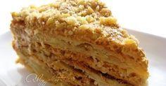 """Торт """"Королевский Наполеон"""" (только вместо маргарина лучше использовать сливочное масло)"""