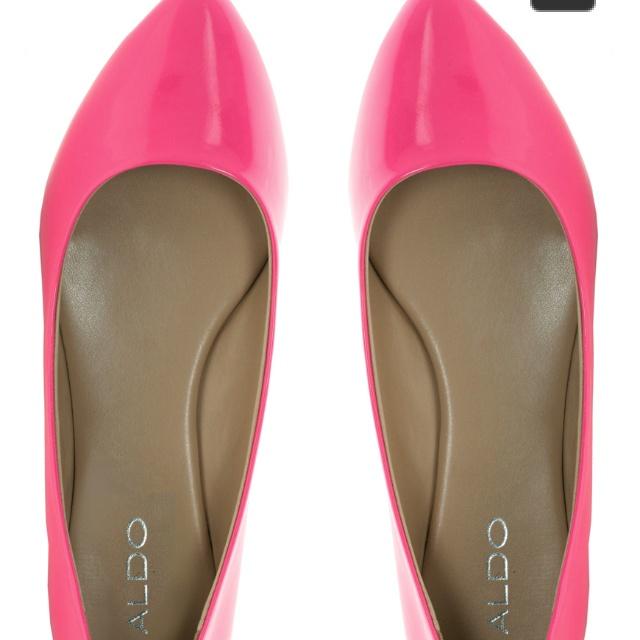 @aldoshoes Neon Pink Hilser Ballet Flats £35 from @asos.com