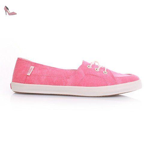 Vans  Palisades Vulc, Chaussures de Sports aquatiques femme - rouge - (washed) caylpso coral, 7 UK - Chaussures vans (*Partner-Link)