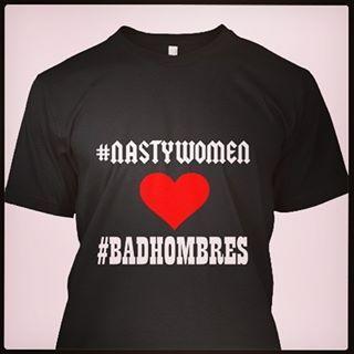 Haha - Trumptastic t-shirt! http://bit.ly/2e8LDrK #nastywoman #badhombres #badhombre #nastywomen #presidentialdebate