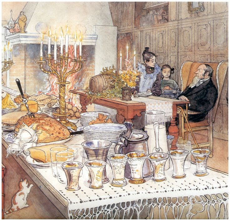 Detail Of Christmas Eve  Artist: Carl Larsson  Completion Date: 1906