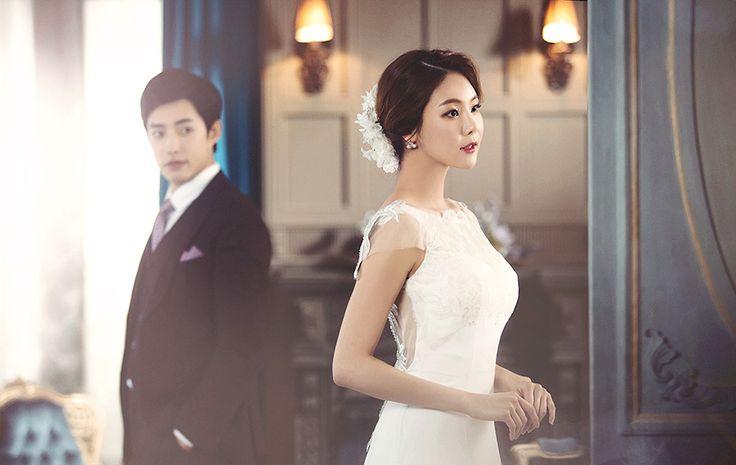 Korean Studio Pre-Wedding Photography: 2016 Romantic Vintage Collection  by Bong Studio on OneThreeOneFour 8